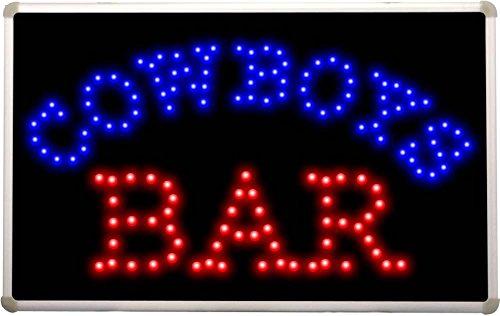 Led041 Cowboys Bar Led Neon Light Sign