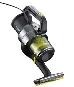 TWINBIRD 強力にゴミを吸引 パワーハンディークリーナー ハンディージェットサイクロンEX HC-E251GY メタリックグレー HC-E251GY