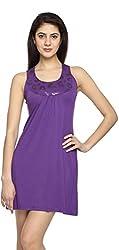 Texco Garments Women's A-Line Dress (15, Purple, M)