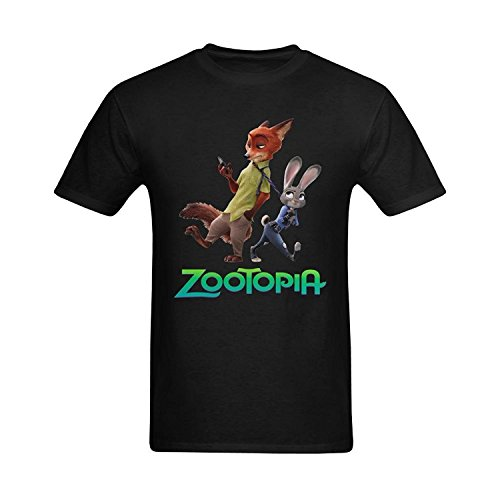 Men's Zootopia Poster T-shirt