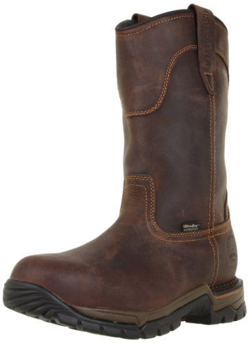 Irish Setter Men's 83906 Wellington Steel Toe Work Boot,Brown,12 D US (Red Wing Irish Setter compare prices)