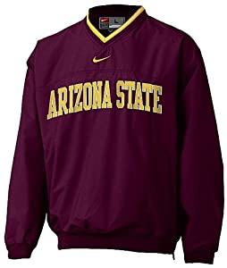 Arizona State Sundevils V-Neck College Windshirt By Nike Team Sports by Nike