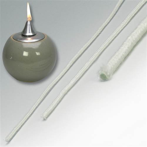 Oil Lamp Wicking - Fibreglass (8mm)