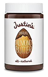 Justin's Almond Butter, Chocolate, 16 Ounce (Pack of 3)