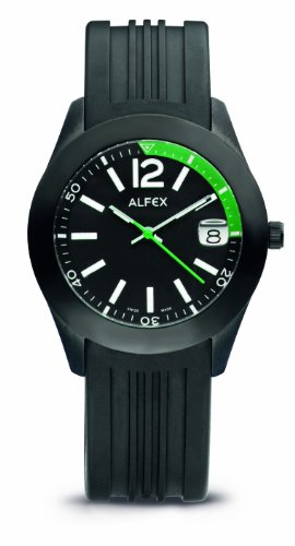 Alfex men's Quartz Watch Analogue Display and Rubber Strap 5648_695