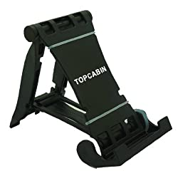Ipad Holder High Quality Plastic Multi-stand for E-reader Tablets Cell Phones (Black)