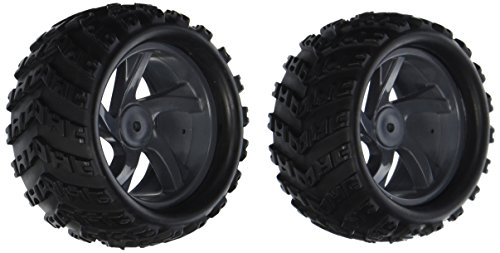 Iron Track Atomik RC Rim and Tire Set - MT for Iron Track Mastodon 4WD RC Truck Vehicle, 2-Piece