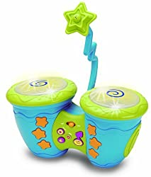 Sing Along Electronic Bongos with Microphone and Scratch Discs Learning & Exploration Toy by Ottavo