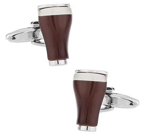 Guinness Beer Cufflinks by Cuff-Daddy (Beer Cufflinks compare prices)