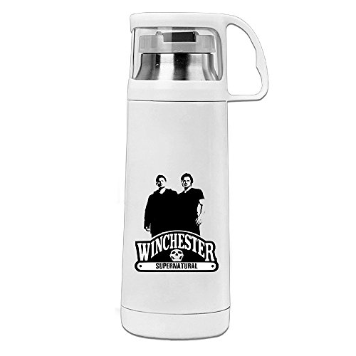 HAULKOO Supernatural Brothers Stainless Steel Cup (Sam And Dean Doll compare prices)