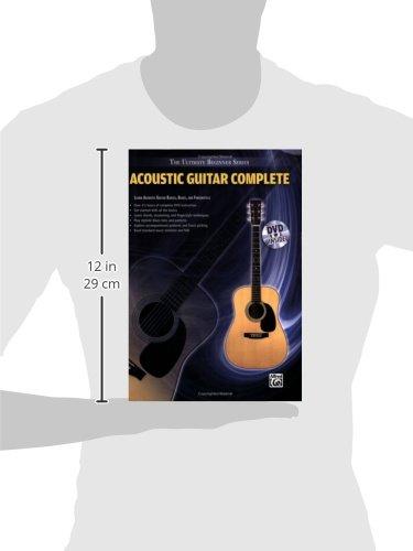 Ultimate Beginner Series: Acoustic Guitar Complete: Book & DVD (Hard Case) (The Ultimate Beginner Series)