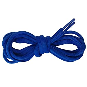 Suddora Multi Color Shoelaces - Pair of Tubed Shoe Laces (Blue)