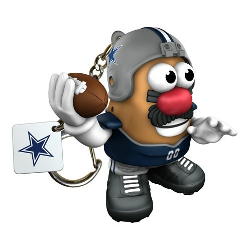 Nfl Dallas Cowboys Mr Potato Head Keychain front-829528
