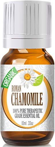 Chamomile Essential Oil, Roman (Organic) 100% Pure, Best Therapeutic Grade - 10Ml