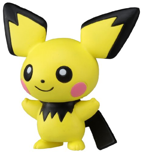 "Takaratomy Official Pokemon X and Y MC-046 2"" Pichu Action Figure - 1"
