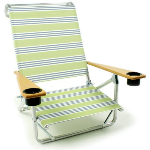 Telescope 541 Mini Sun Chaise With Cup Holder Beach Chairs - 535 Limelite