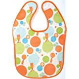 Tuc Tuc Fun Orange Waterproof Baby Bib. Circus Collection.