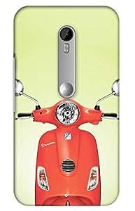 bike Designer Printed Back Case Cover for Motorola Moto X Play
