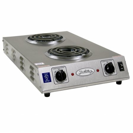 Broil King Buffet Range 120 V/1650 W/825 W 5-1/2 In. Dia. Stainless Steel