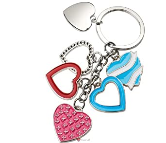 Chain of Hearts Keyring
