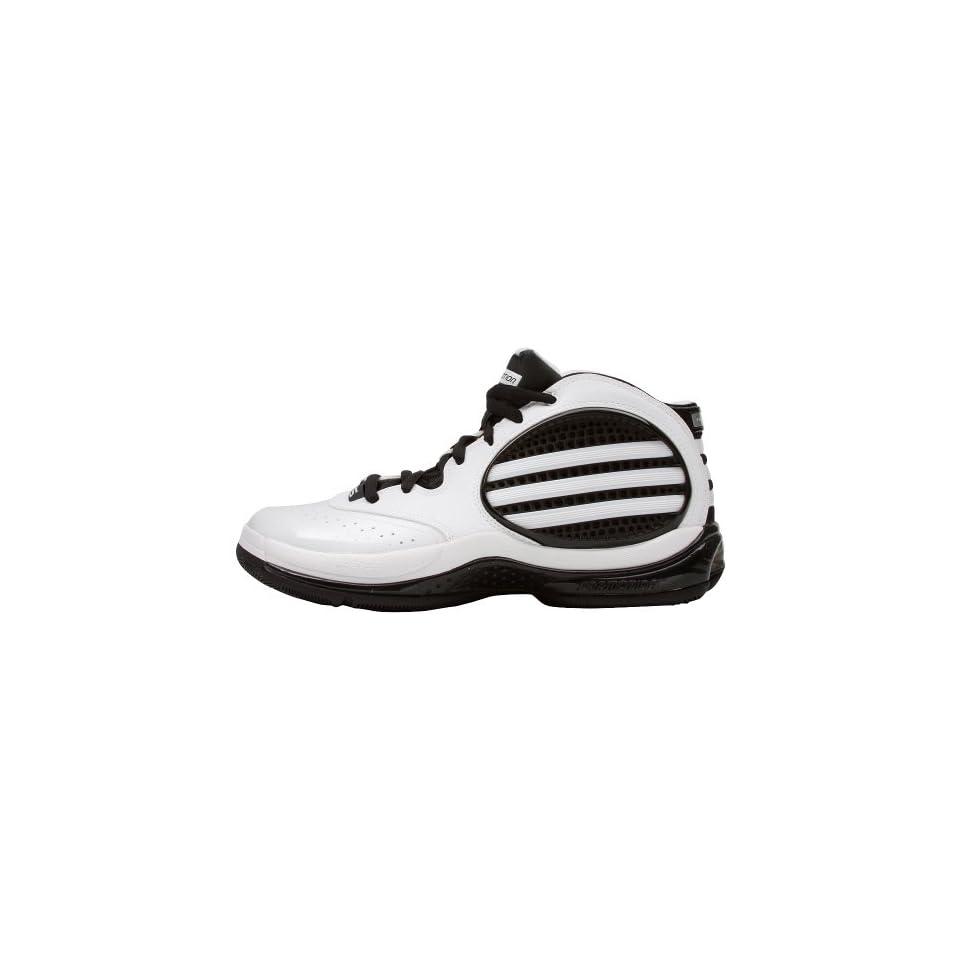 e83a44e21c4e Adidas Mens SM TS Cut Creator 3 NCAA Run White Met Silver Black Nubuck