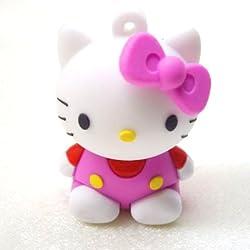 New Pink Hello Kitty 8GB USB Flash Drive