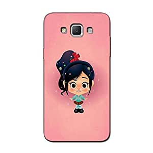 CUTE PINK GIRL BACK COVER FOR SAMSUNG GALAXY GRAND MAX