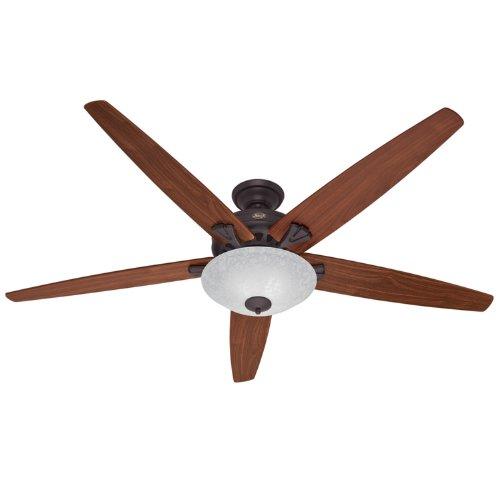Hunter 23963 70-Inch Stockbridge Ceiling Fan (New Bronze)