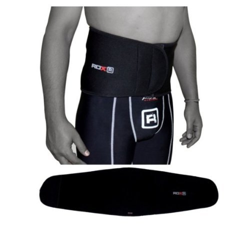 Authentic RDX Lower Back Support Lumber Belt Brace Pain Relif Gym Fitness Weight Lifting Backache, Small , Medium , Large ,Xlarge