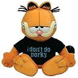 TY Garfield - I Don't Do Perky Beanie Baby