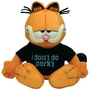 TY Beanie Baby - GARFIELD the Cat (I DON'T DO PERKY) - 1