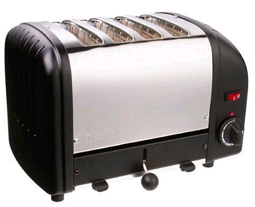 Dualit 4 Slice Toaster Black 40344