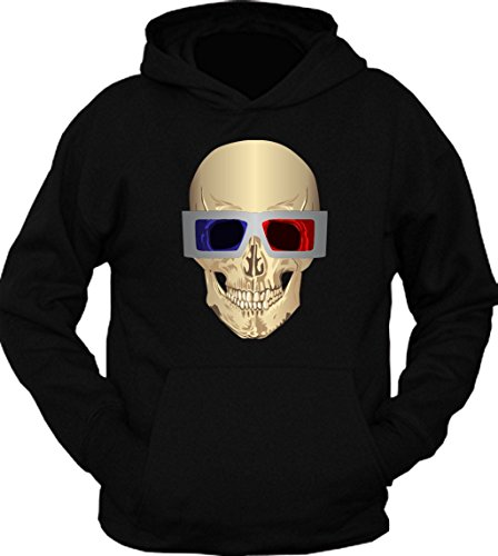 Skull 3D Glasses Hoodie