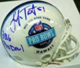 Lofa Tatupu Autographed/Hand Signed Pro Bowl Mini Helmet PSA/DNA at Amazon.com
