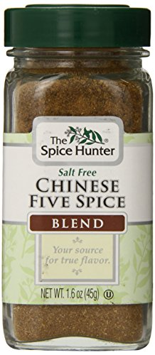 The Spice Hunter Chinese Five Spice Blend, 1.6-Ounce Jar