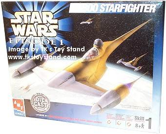 ERTL Star Wars Episode I Naboo Starfighter Die Cast Model Kit 1:48 - Buy ERTL Star Wars Episode I Naboo Starfighter Die Cast Model Kit 1:48 - Purchase ERTL Star Wars Episode I Naboo Starfighter Die Cast Model Kit 1:48 (ERTL, Toys & Games,Categories,Construction Blocks & Models,Construction & Models,Vehicles)