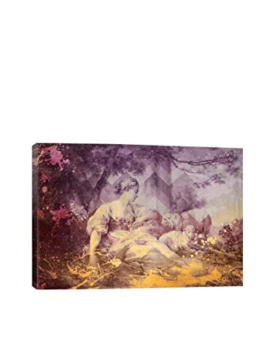 A Shepherdess III Gallery Wrapped Canvas Print