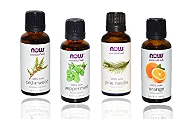 3-Pack Variety of NOW Essential Oils