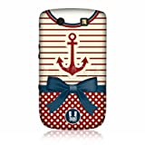 Head Case Anchor Nautical Clothing Design Case for BlackBerry Torch 9800 9810