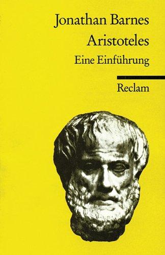 Aristoteles. Eine Einführung.