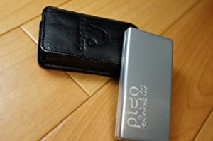 HeadAmp(ヘッドアンプ) Pico Slim USB充電ポータブル・ヘッドホン・アンプ シルバー 国内正規品/1年保証