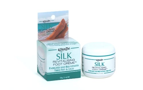 ClearZal Silk Revitalising Foot and Leg Creme 59g