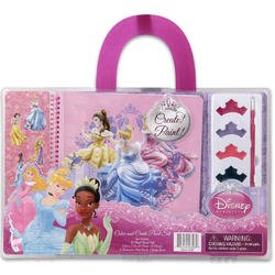 Disney Princess Paint Set With Stickers - 1