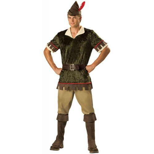 Robin Hood Costume - Large - Chest Size 42-44