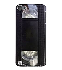 ColourCraft Retro Video Cassette Design Back Case Cover for APPLE IPOD TOUCH 5