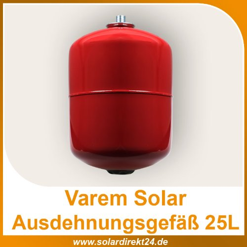 ausdehnungsgef varem solar ausdehnungsgef 25 liter. Black Bedroom Furniture Sets. Home Design Ideas