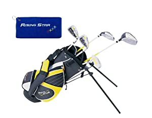 Paragon Rising Star Kids Golf Clubs Set Ages 5-7 Yellow With Free Golf Gift by Paragon Golf