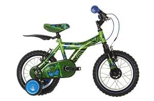 """Raleigh Atom 14"""" Wheel Boy's Bike 2014 - Green"""
