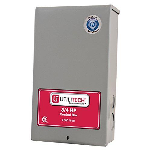 utilitech 3 4 hp 230 volt control box well pumps parts. Black Bedroom Furniture Sets. Home Design Ideas