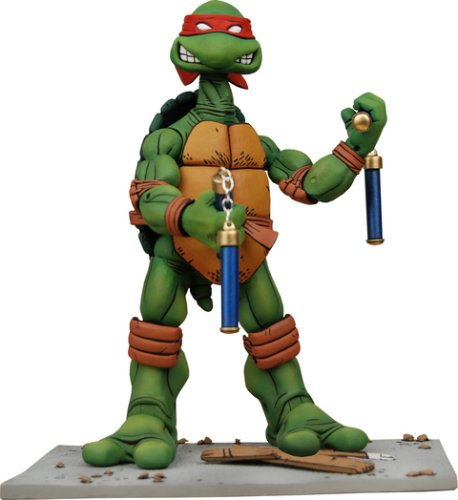 Picture of NECA Teenage Mutant Ninja Turtles NECA Comic Style Action Figure Michelangelo (B0017354DC) (TNMT Action Figures)